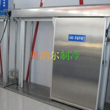 定制生产聚氨酯平移门冷库门