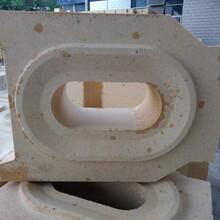 硅砖厂家焦炉、玻璃窑用异型硅砖依图纸定做图片