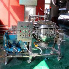 醬汁肉鹵制設備五香豬肉蒸煮夾層鍋豐盛粽子快速成熟設備圖片