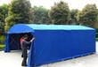 定制推拉篷桥梁养护棚防雨篷伸缩蓬推拉帐篷大型推拉蓬雨棚
