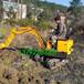 小型挖掘机非常想念的好品牌微型液压挖土机树坑挖坑机