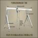 固定式铝制龙门吊机可调节横向宽度双横梁铝制龙门架