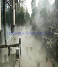 亳州公园假山人造雾森工作原理图片