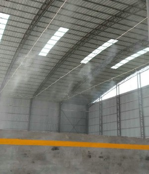 清丰料棚雾化降尘系统支持网上订购