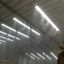 新野车间降尘喷雾系统10年老厂图片