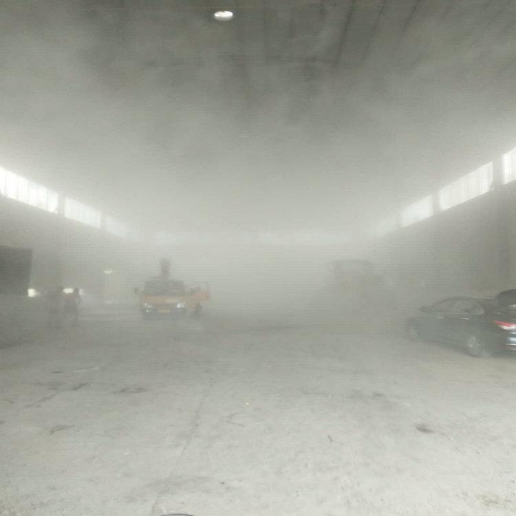 召陵工厂水雾降尘设备基础图纸