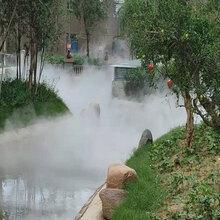 武汉高压造雾设备原理图片