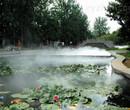 济宁人工湖景观造雾原理图片