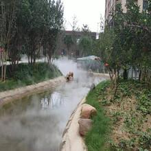 黄冈花园小池景观造雾原理图片