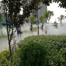 济南公园人造雾系统品牌图片