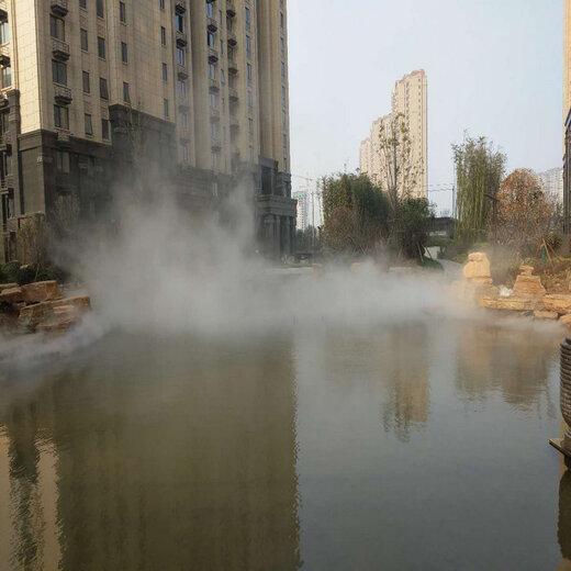 信陽公園人造霧設備保養簡單