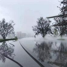 南京小区雾森系统安装施工图片
