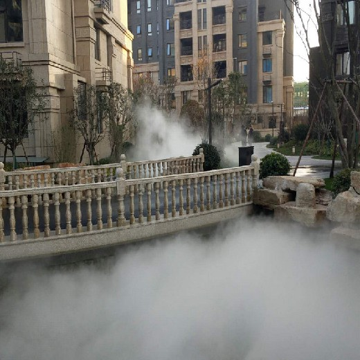 南昌高壓造霧設備專車送貨