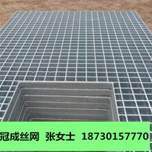 镀锌钢格栅板规格型号/电厂平台钢格栅板批发厂家/冠成