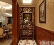逸翠尚府160平米美式风格设计案例——西安城市人家图片