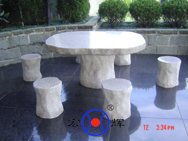厂家直销-石材桌子/椅子