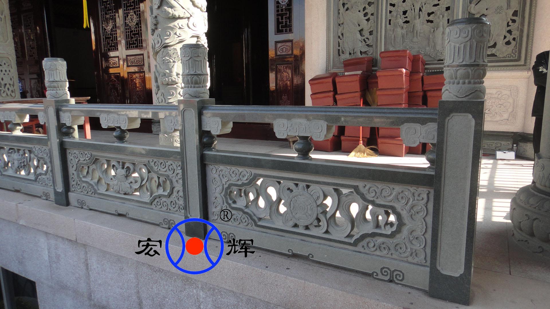 中国传统建筑中栏杆的材料有多种