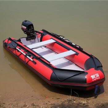 充气橡胶艇