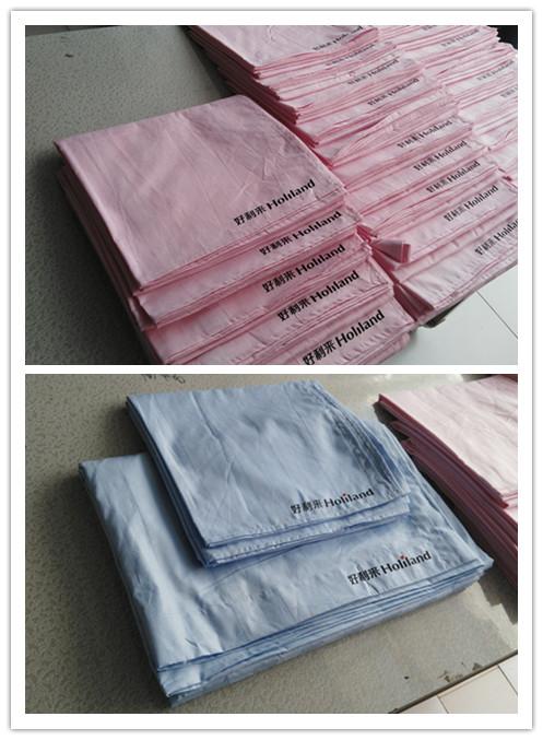 北京酒店客房布草纯棉床单被罩定做批发供应商厂家