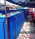 环保养殖池定做_帆布鱼池加工_PVC防渗水帆布