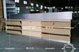 新款华为木纹靠墙体验柜厂家直销