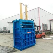 河北沧州60吨塑料瓶打包机布匹立式打包机厂家图片