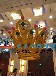 现货租赁皇冠泡沫雕塑婚庆泡雕道具武汉婚礼装饰布景道具