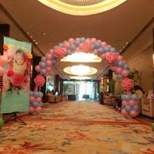 气球拱门制作、婚礼气球装饰、艺术气球