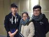 浙江机电职业技术学院大学生杭州宏人录音棚录制歌曲