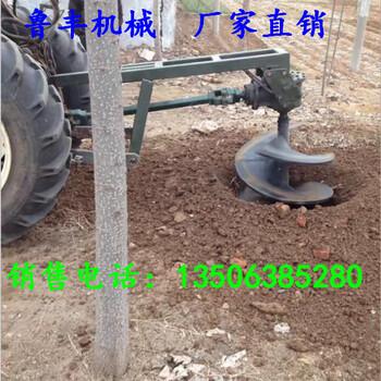 福建立杆挖坑机硬土质植树挖坑机