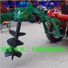 河南焦作拖拉机植树打坑机大拖拉机配置的挖坑机