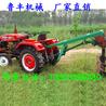陕西榆林大拖拉机栽树挖坑机2018年新款栽树挖坑机