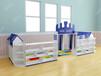 贝尔康幼教设施幼教家具/玩具/碳化积木/组合滑梯