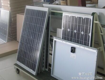 回收库存电池板