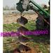 江北大型电线杆挖坑机型号多少挖坑机直销