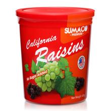 休闲零食品蜜饯果脯干SUMACO/素玛哥葡萄干400g美国图片