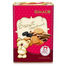 进口饼干什锦曲奇中秋礼盒SUMACO/素玛哥杂锦饼干(小熊版)688g印度尼西亚图片