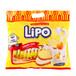 进口休闲零食品批发LIPO利葡奶油味面包干300g越南