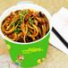 最火的小吃加盟项目双响QQ杯面5平米就能开店