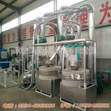 石磨面粉机械设备电动石磨磨面机组石磨面粉机成套设备价格厂家直销价