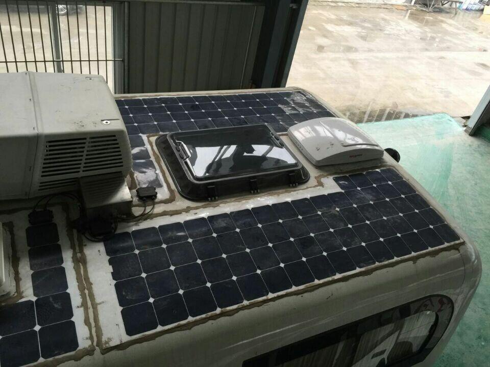 房车太阳能发电系统