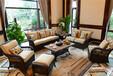 户外家具哪家好梵得户外休闲沙发藤编沙发花园家具酒店家具可定制可批发