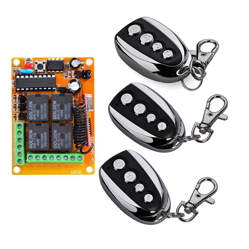 车库门卷闸门遥控电动门数码电动门遥控器接收器控制