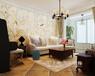濮阳金龙湾89平方两室两厅美式乡村案例装修效果图