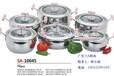 广东三A集团304不锈钢锅具6件套复合底锅礼品锅