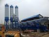 供应泽宇重工优质移动式混凝土搅拌站HZS50站带一台100吨片状仓