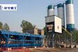 2016年优质茌平混凝土搅拌站厂家山东泽宇重工供HZS50站带两台水泥仓