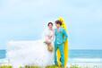 北海金莎贝尔婚纱摄影专业海景婚纱摄影品牌