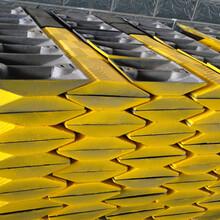 洛阳瀍河减速带道路减速带橡胶&铸钢&塑料减速带专卖