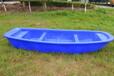 桂林4.1米塑料船湖泊景观船河道护理船